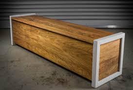 Outdoor Modern Bench Patio Storage Bench Resin Patio Storage Bench Image Of Diy