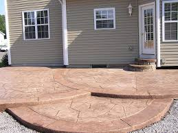 concrete designs for patios unique hardscape design perfect images