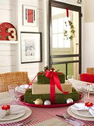 how to create a gift box centerpiece hgtv