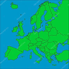 Map Of Europe With Countries by Map Of Europe With Borders U2014 Stock Photo Tonygers 3055850