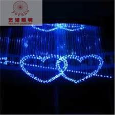 fiber optic lamp fashion modern love heart shaped fiber optic