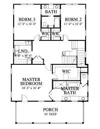 143141 house plan 143141 design from allison ramsey architects second floor plan 1436 sq ft elevation third floor plan