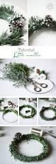 easy diy christmas wreath ideas how to make a christmas wreath