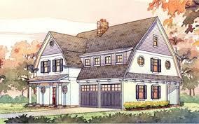 gambrel house plans 2 story passive solar gambrel house plan 16503ar architectural