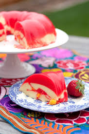 creamy mango strawberry gelatin muy bueno cookbook
