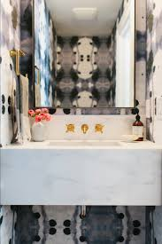 Wallpaper Powder Room Unique Powder Rooms To Inspire Your Next Remodeling