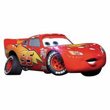 roommates 5 in x 19 in cars lightening mcqueen 4 piece peel and cars lightening mcqueen 4 piece peel and stick