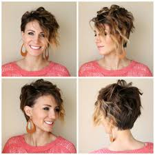 360 short hairstyles flat iron curls for a long pixie hair tutorial one little momma