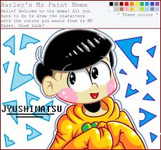 Ms Memes - ms paint meme jyushimatsu by sarcastic echo on deviantart
