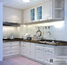 Kitchen Cabinet Finishes Ideas Kitchen White Design European Style Fitted Kitchen With Tables