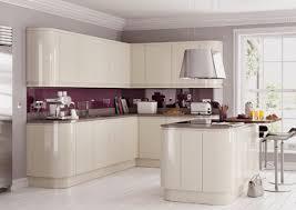 purple kitchen backsplash white cabinets with brown glaze granite