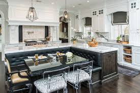 oval kitchen islands simple portfolio the way this banquette is built in to the island would get
