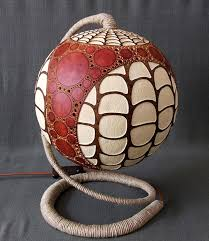 amazing exotic gourd lamps from calabarte freshome com