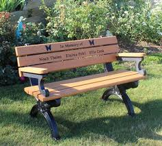 Engraved Benches End Of Year Sale From Polly Products