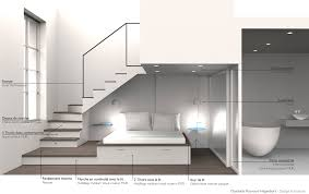 chambre mezzanine aménagement d une chambre sous une mezzanine en cours