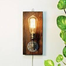 Amazon Anglepoise Desk Lamps Wooden Handmade Vintshop Hexagon Design Table Lamp With Edison