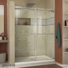 glass shower sliding doors shop shower doors at lowes com