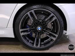 Bmw M3 All Black - 2016 bmw m3 like new in alpine white black w only 2 150 miles