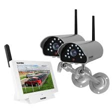 Outdoor Home Audio Systems Audio Alert Siren Security Camera Systems Home Security
