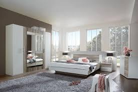 chambre comtemporaine chambre adulte complète contemporaine hoganas coloris chêne et