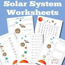 solar system worksheets for kids itsy bitsy fun