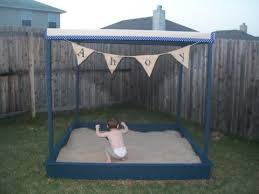 Build A Sandpit In Your Backyard Ana White Large Covered Sandbox Diy Projects