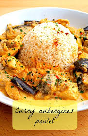 recette cuisine saine curry poulet aubergine poulet aubergine recettes saines et aubergines