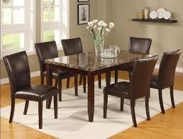 ferrara 7 piece dining set in espresso finish by crown mark 2221