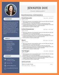 Brand Ambassador Job Description Resume by Brand Ambassador Resume Resume Name