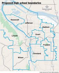 Portland Neighborhood Map Marshall Would Close Benson Become A Career Tech Center Under