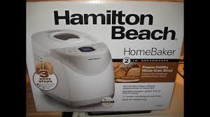 Whole Wheat Bread Machine Recipes Introducing My New Hamilton Beach Home Baker Bread Machine Model