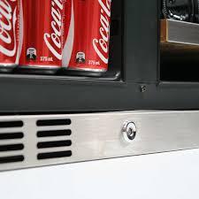 coca cola fridge glass door bar fridges australia schmick wine and beer combo with lg compressor