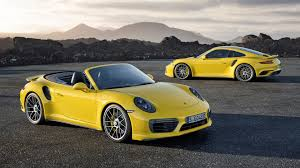 porsche yellow yellow porsche 911 turbo s 2017 wallpapers 1920x1080 866083
