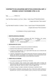 contratto locazione box auto contratto di locazione con cedolare secca lexdo it