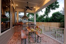 ty pennington outdoor furniture porch traditional with back porch