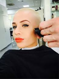 very beautiful headshave girls 140 best bald is freedom images on pinterest short hairstyle bald