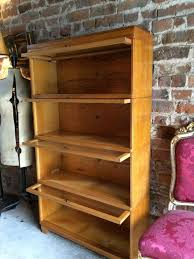 Sectional Bookcase Original Globe Wernicke Golden Oak Bookcase Stacking Gunn Four