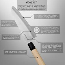 high carbon kitchen knives hiroshi knives 6 5 sushi knife kitchen dining
