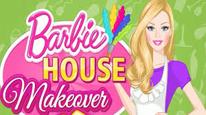 barbie house makeover episode full clean u0026 decorate game for