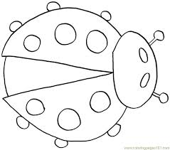 ladybug coloring free ladybugs coloring pages