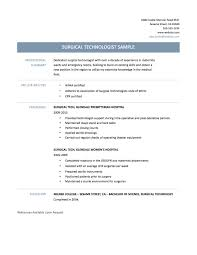 wonderful design surgical tech resume sample 6 17 best images