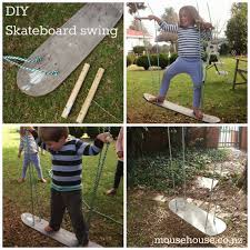 mousehouse diy skateboard swing