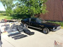 1967 Mustang Fastback Black Ford Mustang Fastback Black With 429 460 Big Block And Ton Of Extras