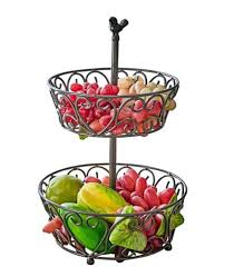 kitchen fruit basket antique bronze home decor fruit basket