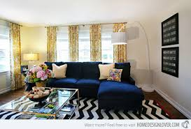 blue living room chairs 15 lovely living room designs with blue accents home design lover