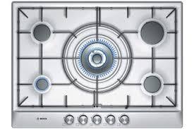 plaque cuisine gaz table cuisson gaz 4 feux affordable bosch table de cuisson gaz