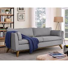 modern sofas sonora light gray sofa eurway furniture