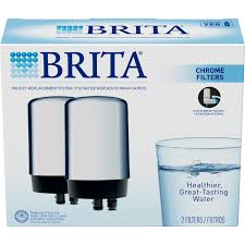 Kitchen Faucet With Built In Water Filter Amazon Com Brita On Tap Water Filtration System Replacement