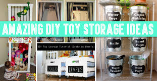 Amazing DIY Toy Storage Ideas For Crafty Moms  Cute DIY Projects - Cute bedroom organization ideas