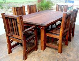 Build Patio Table How To Build Patio Furniture Planter Bench Free Plans Outdoor Wood